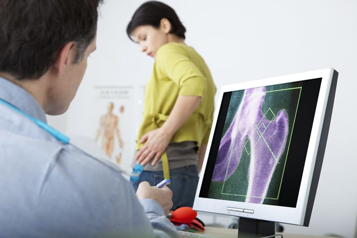 Objetivo da densitometria óssea