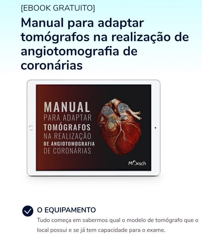 Manual para adaptar tomógrafos para TC cardiovascular