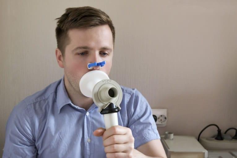 Prova de Função Pulmonar conceito