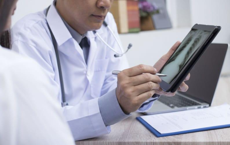 Laudo a distância em Pneumologia