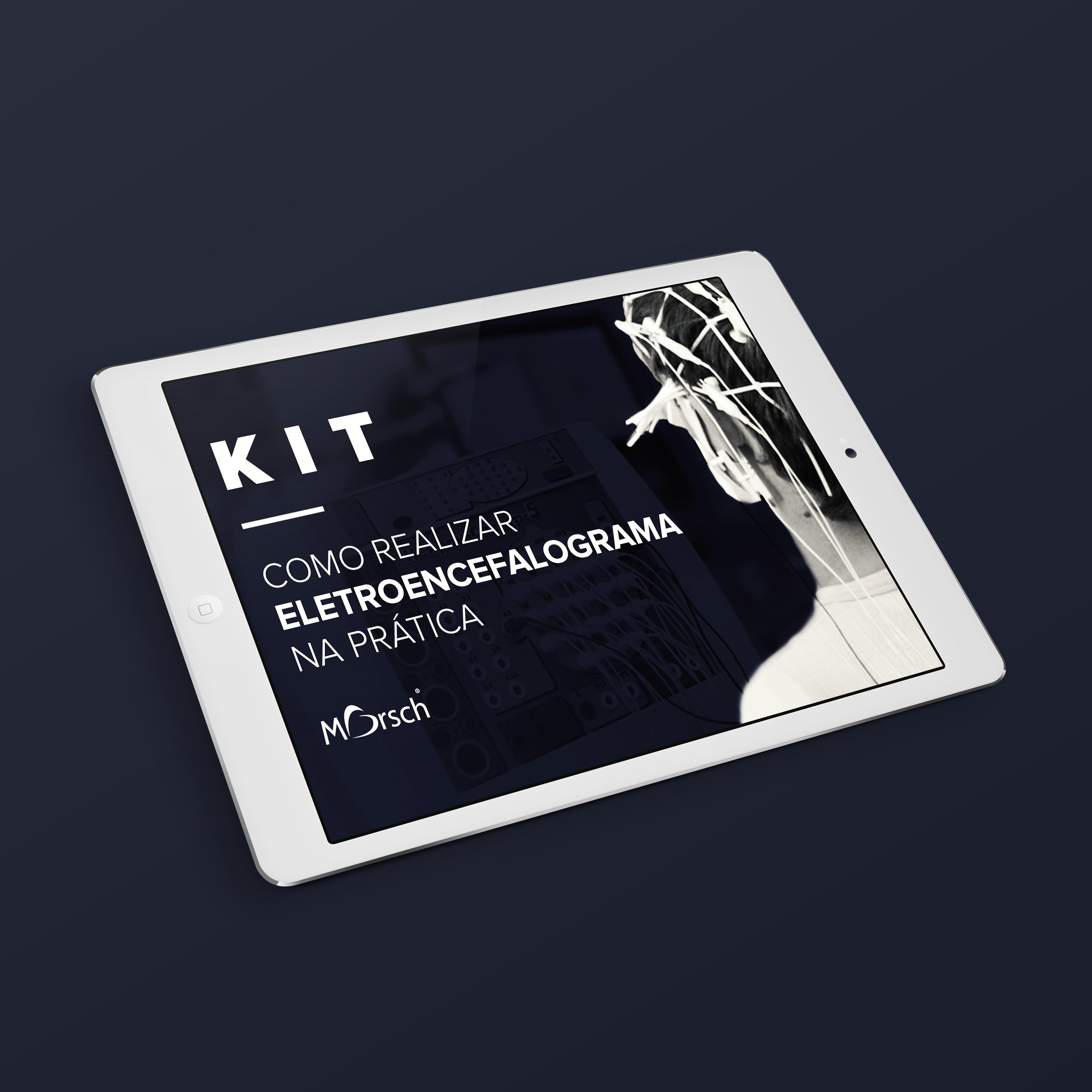 KIT como realizar eletrocardiograma na prática