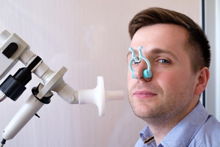 aparelho de espirometria