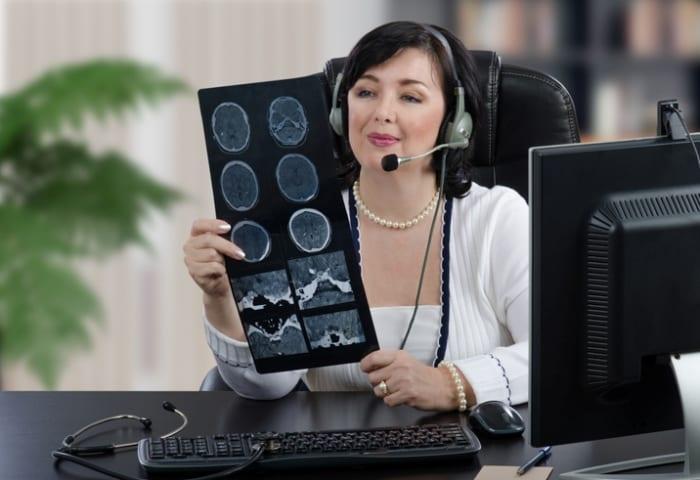 Confira a seguir um exemplo do uso da telemedicina no campo da telerradiologia