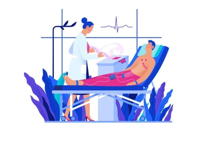 Como as clínicas aproveitam o aparelho de eletrocardiograma digital?