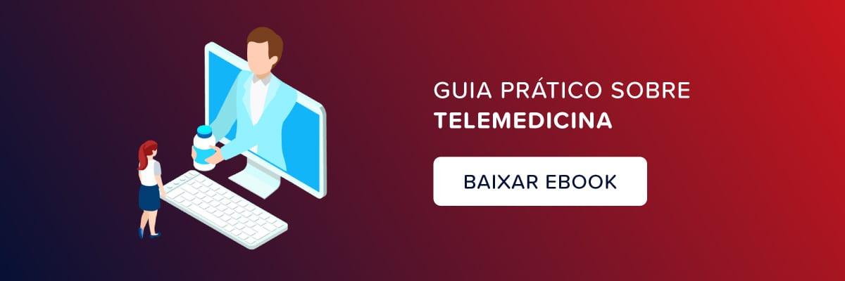 Capa de e-book sobre telemedicina