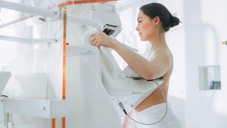 aparelho de mamografia