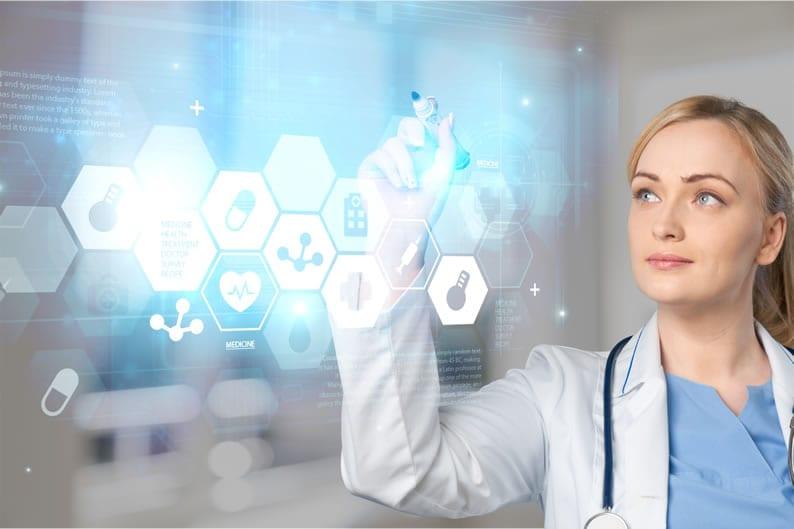 Exemplos de saúde digital e e-Saúde