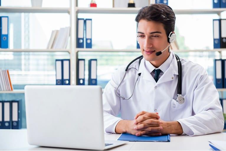 Quais são os tipos de consulta médica remota