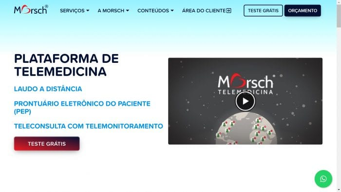 Site da Telemedicina Morsch