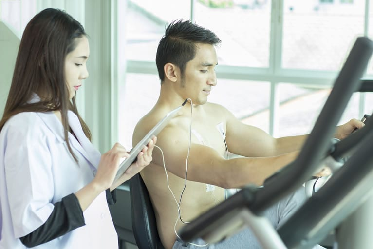 Exames complementares para o atestado de aptidão física