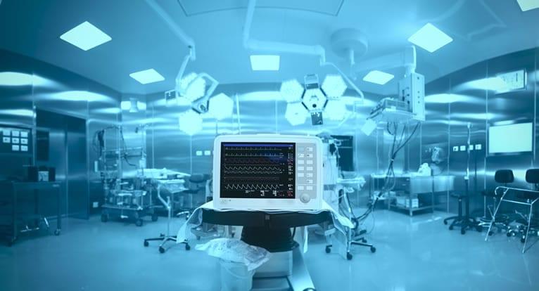Manutenção de equipamentos hospitalares