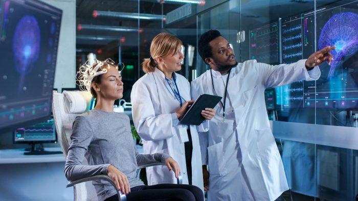 Aluguel de equipamentos médicos: aparelho de eletroencefalograma (EEG)