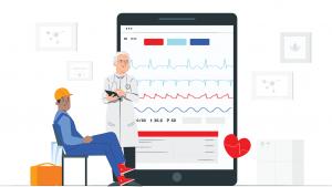 ECG para medicina do trabalho