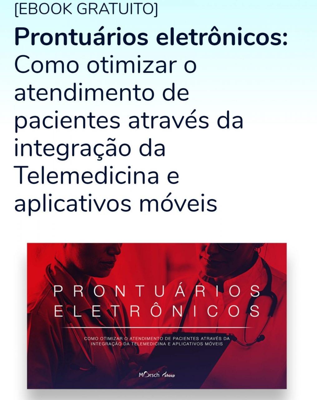 e-book prontuário eletrônico