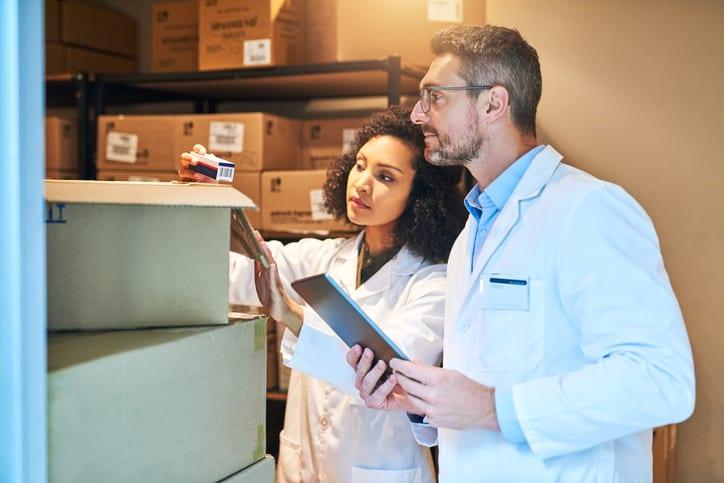 gestão de estoque nas clínicas