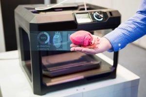 impressora 3d na medicina