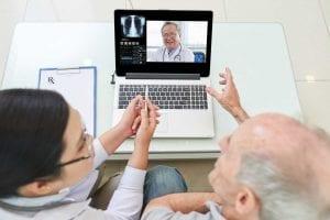 A teleconsulta faz parte do consultório online