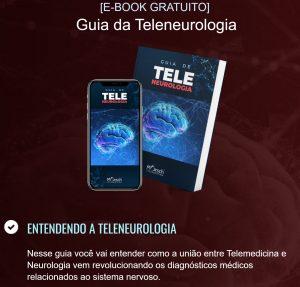 capa de e-book sobre teleneurologia