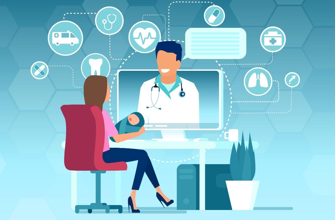 6 principais benefícios da telepediatria