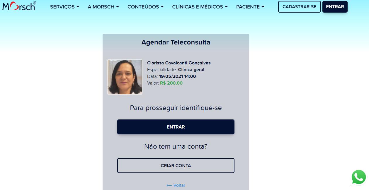 Teleconsulta Telemedicina Morsch