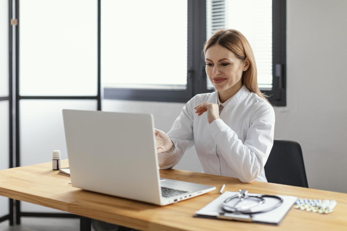 Uma consulta online pode ser a melhor opção