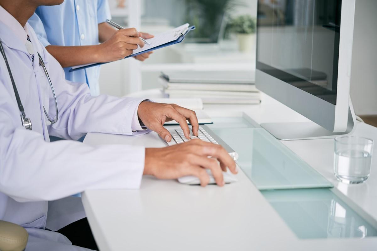 Caligrafia do médico